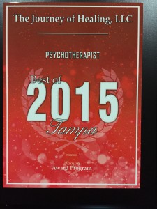 Tampa Bay Best Psychotherapist of 2015